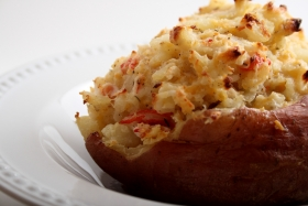 Baked Crab Potatoes