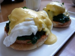 Baked Eggs Florentine