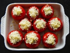 Baked Honey Tomatoes
