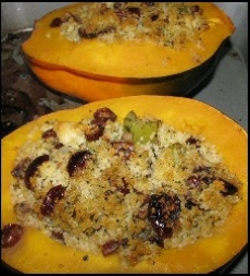 Baked Stuffed Squash