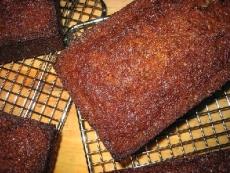 Banana Walnut Spice Loaf