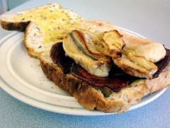 Banana and Bacon Sandwich