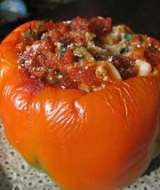 Barley Stuffed Peppers