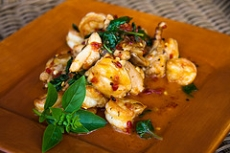 Basil Shrimp
