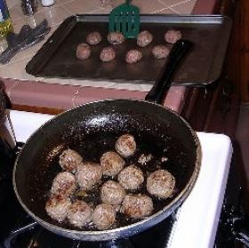 Beer Meatballs