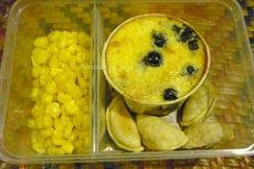 Blueberry Corn Bread