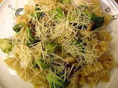 Broccoli, Pasta And Parmesan