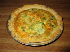 Broccoli And Cheese Quiche