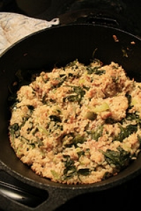 Brown Rice And Spinach