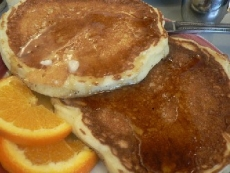 Buttermilk Toaster Pancakes