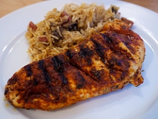 Cajun Style Chicken With Rice