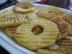 Calypso Grilled Pineapple