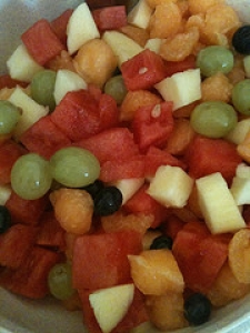 Cantaloupe Fruit Salad
