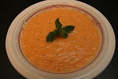 Cantaloupe Soup