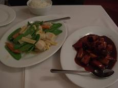 Canton Chicken & Snow Peas
