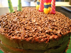 Caramel Chocolate Chip Cake