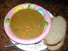 Carrot And Ham Soup