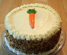 Carrot Nut Cake