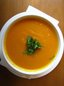 Carrot and Cashew Soup