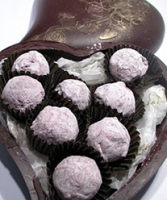 Champagne Truffles