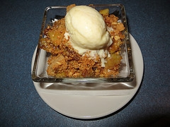 Cheddar Apple Cobbler