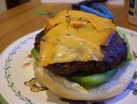 Cheddar Burgers