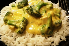 Chicken - Broccoli - Cheese And Rice