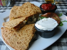 Chicken And Black Bean Quesadillas