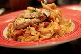 Chicken Pasta Toss