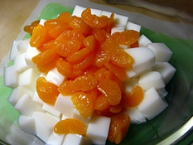 Chinese Almond Jelly