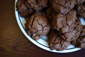 Chocolate Brown Sugar Cookies