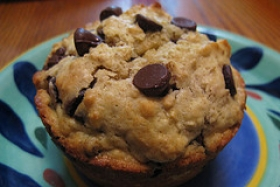 Chocolate Chip Nut Muffins