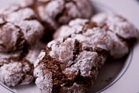 Chocolate-Macaroon Squares
