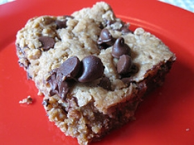 Chocolate Oatmeal Bars