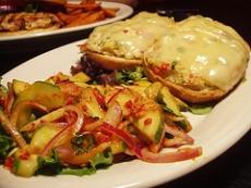 Crab Melt Sandwich