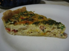 Crab Quiche