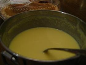 Creme Anglaise (Vanilla Custard Sauce)