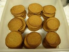 Crisp Rolled Molasses Cookies