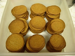 Crisp Rolled Molasses Cookies