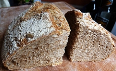 Crusty Rye Bread