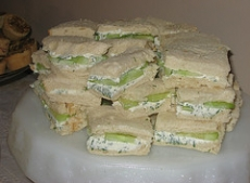 Cucumber-Dill Sandwiches