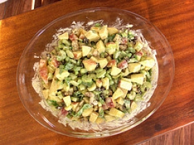 Curried Apple-Raisin Salad