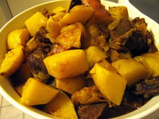 Curried Beef And Potatoes