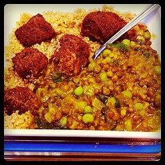 Curried Lentils And Vegetables