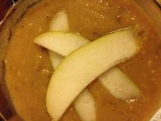 Curried Pear Halves
