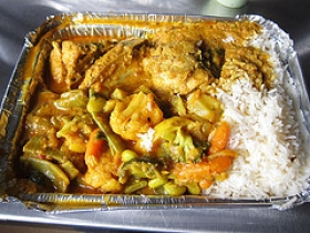 Curry Chicken and Vegetables