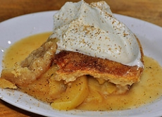 Deep Dish Apple Cream Pie