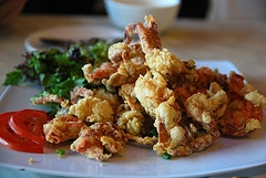 Deep-Fried Crabs