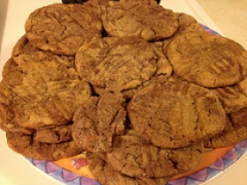 Double Peanut Butter Cookies