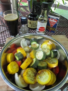 Fall Vegetables on the Grill